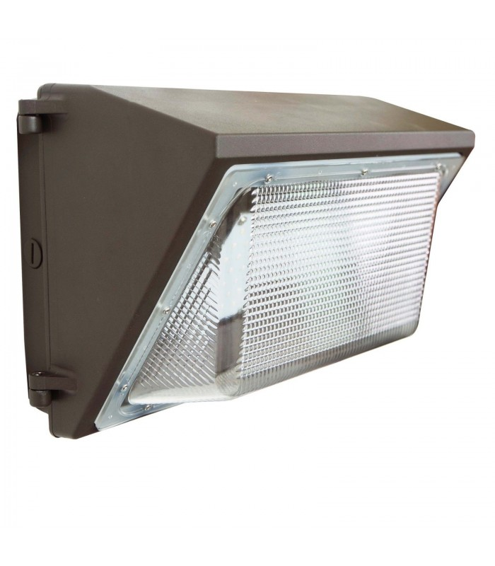 wall mounted parking lot lights